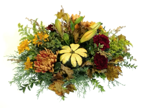 Happy Fall Y'all! Centerpiece Arrangement in Invermere, BC | INSPIRE FLORAL BOUTIQUE