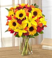 Happy Fall Y'all Vase