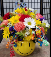 Happy Happy Birthday Bouquet in Indianapolis, Indiana | SHADELAND FLOWER SHOP