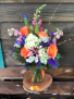 Happy Happy Birthday  Vase Arrangement