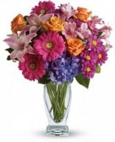 Happy Happy Happy Vase Arrangement
