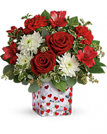 Happy Harmony Bouquet Cube Teleflora