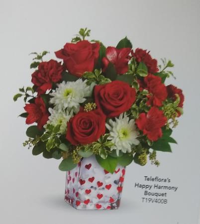 Happy Harmony Bouquet Valentines