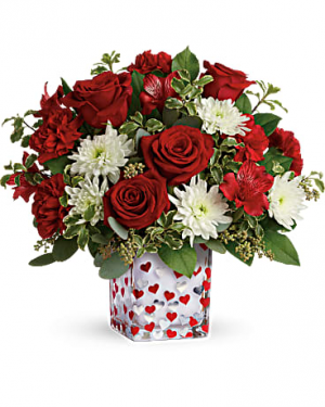 Happy Harmony Valentine Bouquet in Canon City, CO | TOUCH OF LOVE FLORIST AND WEDDINGS