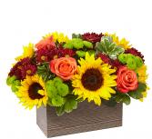 Happy Harvest Bouquet Thanksgiving Centerpiece