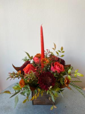 Happy Harvest Centerpiece  in La Grande, OR | FITZGERALD FLOWERS