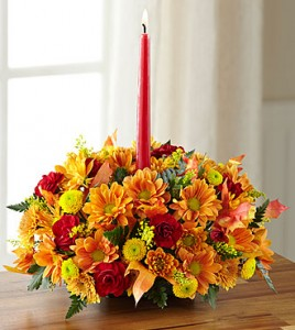 Happy Harvest Centerpiece Single Taper Centerpiece