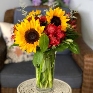 Happy Harvest Floral Arrangement  in Mattapoisett, MA | Blossoms Flower Shop
