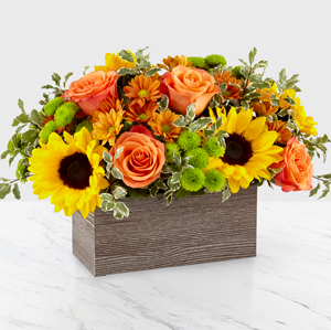 Happy Harvest Garden Designer Vase arrangement
