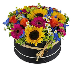 Happy Hat Box  in Ozone Park, NY | Heavenly Florist