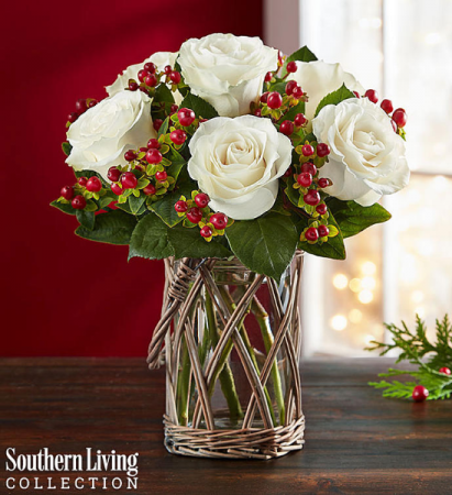 Happy Holiday Bouquet by Southern Living® Arrangement