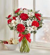 Happy Holidays Vase