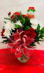 Happy Holidays! Vase