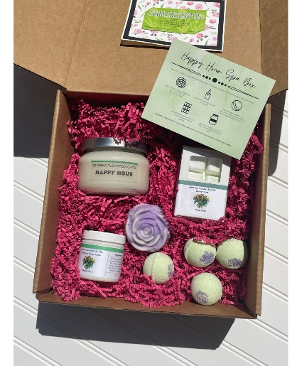 Happy Hour Spa Gift Box Local Delivery Only
