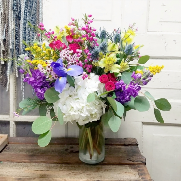 Happy Hues Vase Arrangement