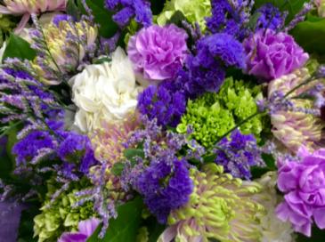 Happy Hydrangeas Cut Flower Bouquet