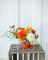 Happy lil' pumpkin Vase
