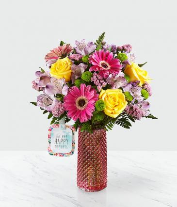 Happy Moments Bouquet by Hallmark Vase Arrangement
