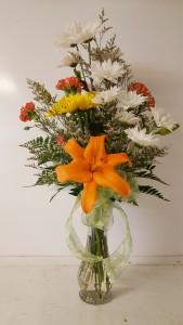 Happy Mother's Daisies Vase arrangement