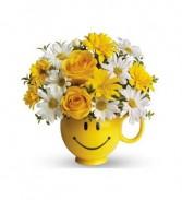 Happy Face Mug Arrangement