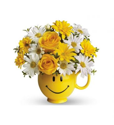 Happy Face Mug Arrangement
