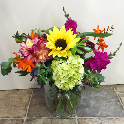 Happy Place Vase Arrangement