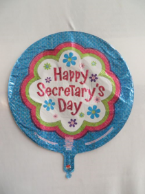 Happy Secretary's Day Mylar Mylar Balloon