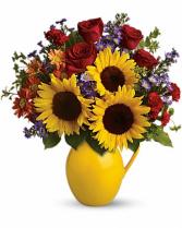 HAPPY SENTIMENTS Vase Arrangement