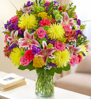 Happy Sunshine Arrangement in Winston Salem, NC | RAE'S NORTH POINT FLORIST INC.