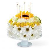 Happy Surprise!   Floral Cake Arrangement