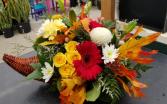 Happy Thanksgiving Fall Arrangement