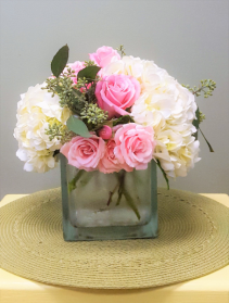 Happy Together Hydrangeas and Roses