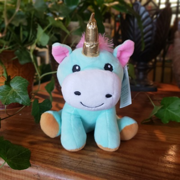 Happy Unicorn Plush
