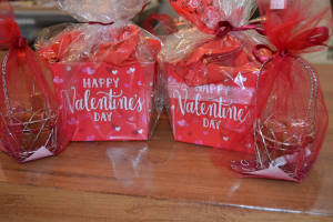 Happy Valentine's Day Happy Valentine's Day Basket in Washburn, ND | Frontier Floral & Gifts