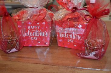 Happy Valentine's Day Happy Valentine's Day Basket