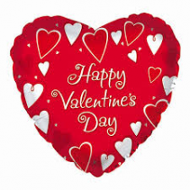 Happy Valentine's Day!!! Mylar