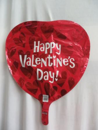 Happy Valentine's Day Mylar Balloon Mylar Balloon