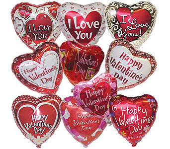 Happy Valentines or I Love you Mylar 18In