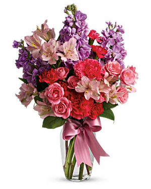 Happy  Vase Arrangement  in Memphis, TN | Something Pretty Too Flower And Gifts