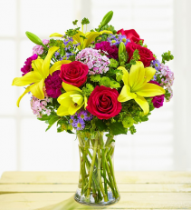Happy Wishes Bouquet Arrangement