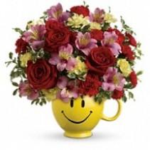 So Happy You're Mine Floral Bouquet