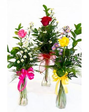 Happy2Day Bud Vase Single Rose Bud Vase