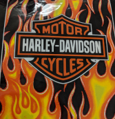 Harley Davidson throw