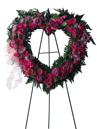 Harmony Farewell Sympathy Wreath
