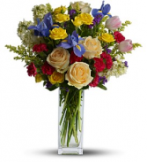 Harmony of Hues - 638  Vase Arrangement