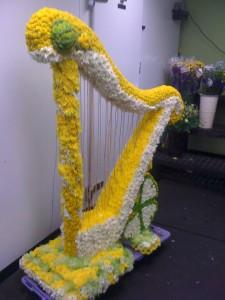 harp funeral