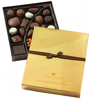8 OZ BOX HARRY LONDON ASSORTED CHOCOLATES  in Lexington, KY   FLOWERS BY ANGIE