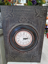Gift-Harry Potter Clock With secret cabinet!