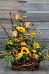 Harvest Basket  in Spokane, WA | RITTER'S GARDEN AND GIFT