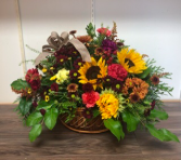 Harvest basket Arrangement